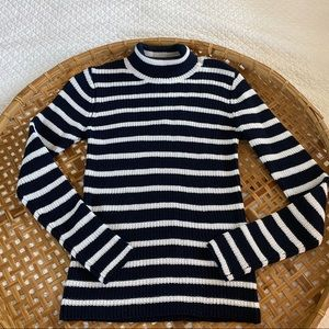 Rolla's stripped knit long sleeve sweater